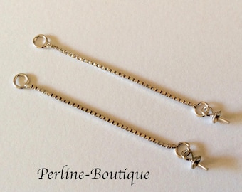 Spacer 45mm 925 sterling silver chains
