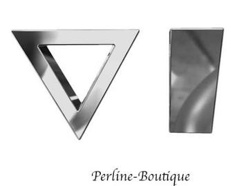Triangle 925 sterling silver charm bead