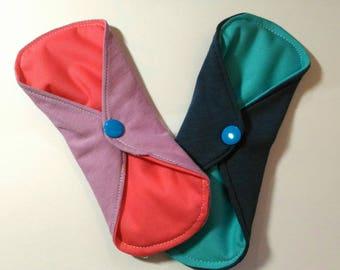set of 3 organic shl - washable pads
