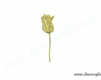 Flower style Tulip, made of medium size 5cm