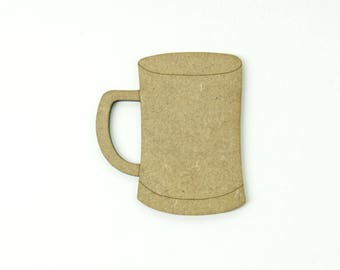 Pint beer made in medium, size 5cm