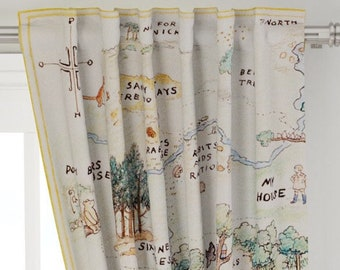 Winnie pooh curtains | Etsy