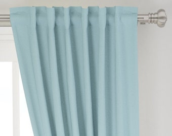 Mint Green Curtains Etsy