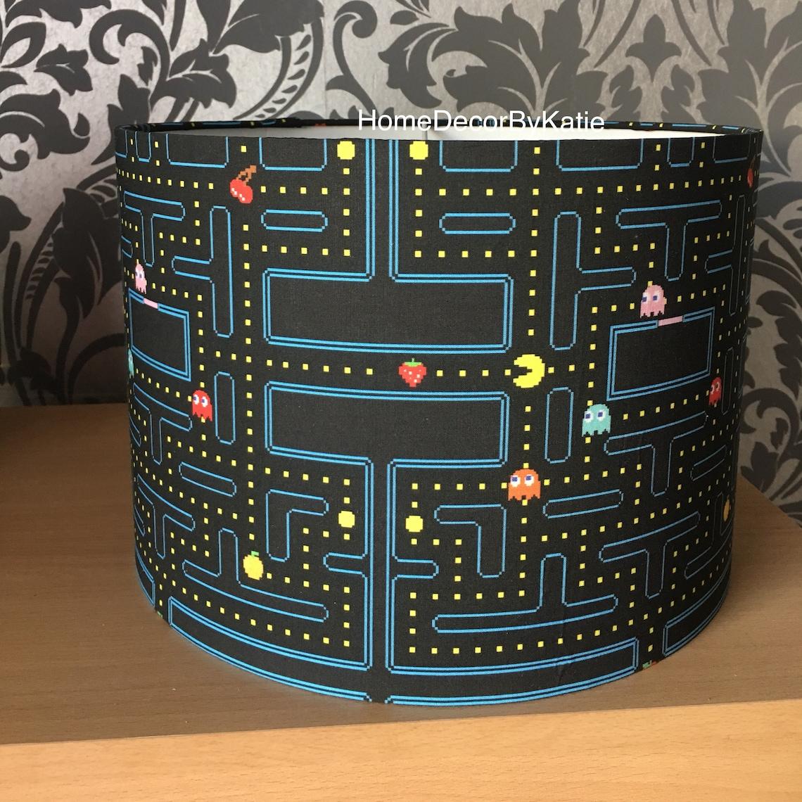 Pac-Man Lamp Shade, Round