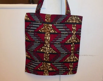 Tote bag wax, african bag, all african tote, african print, african tote, african fashion, gift for her, wax