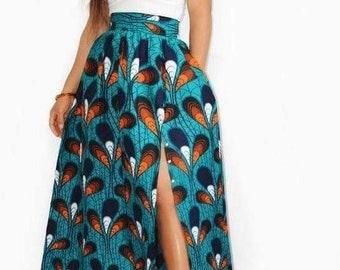 417dac6e659 Maxi jupe africaine