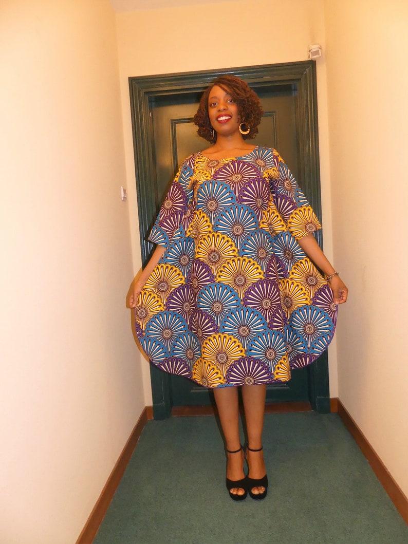 Wax Vêtement Robe WaxAfricainePagne AfricainImprimé Droite EthniqueTissu OkPZiXu