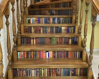 Exceptionnel Library Stairs | Etsy