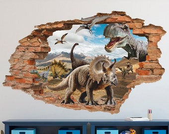 Jurassic Park 3D Wall Sticker 2e325510d2