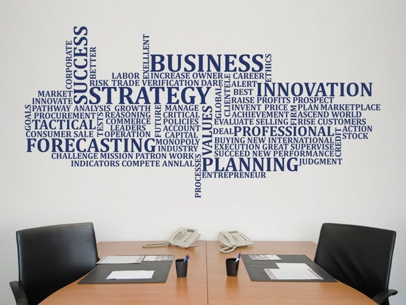 Business Wall Sticker Office Wall Decal Decor For Office