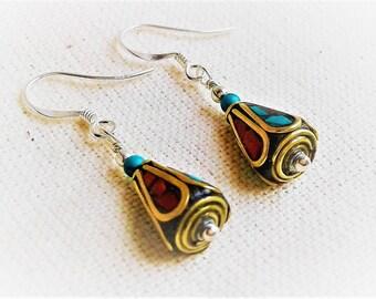 Earrings Himalaya