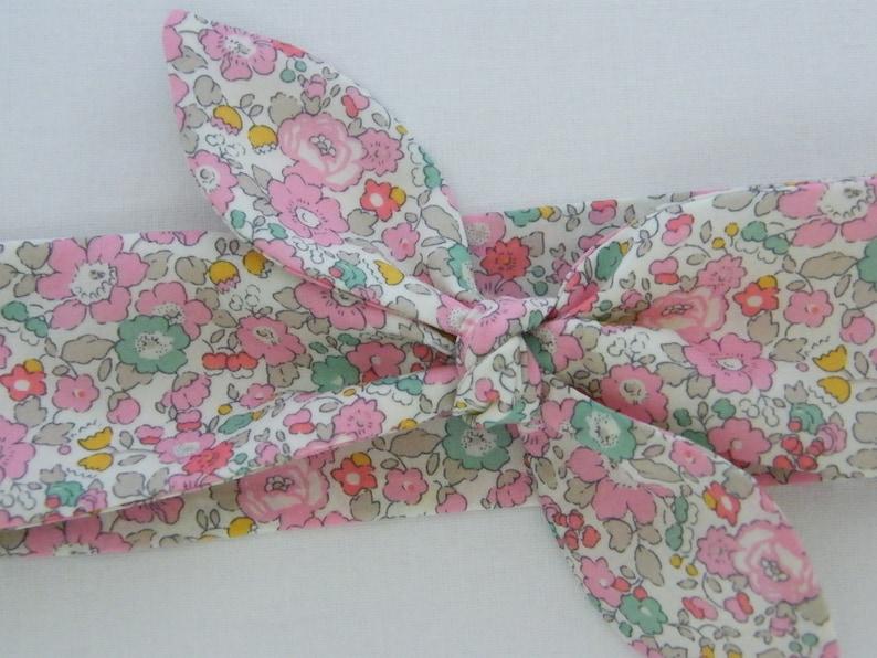 Child headband LIBERTY Betsy Ann sweet pink 3691218 months 23 years