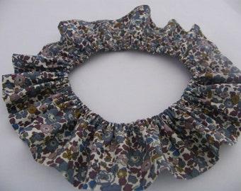 Collar Liberty removable Betsy denim, Baby Children Girl 2/4/6/8/10 years