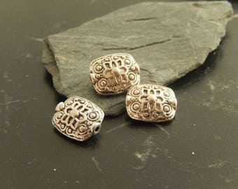 5 spacer beads Tibetan style