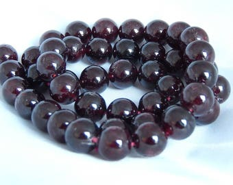 Natural Garnet set of 10 or 44