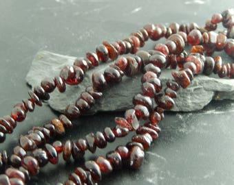 Natural Garnet 230 beads set