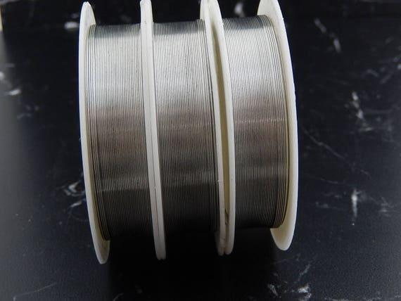 Silver Wire Dead Soft or Half Hard 1 m = 3.281 ft 26 Gauge 0.4mm Sterling Silver Wire