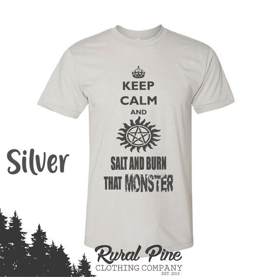 Got A Problem Salt And Burn It Dean Sam Winchester White T-Shirt Supernatural