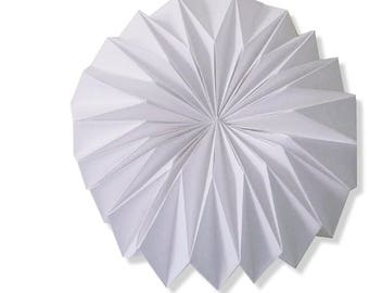 Origami rose applique