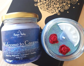 Welcome to Caraval 7oz Soy Candle