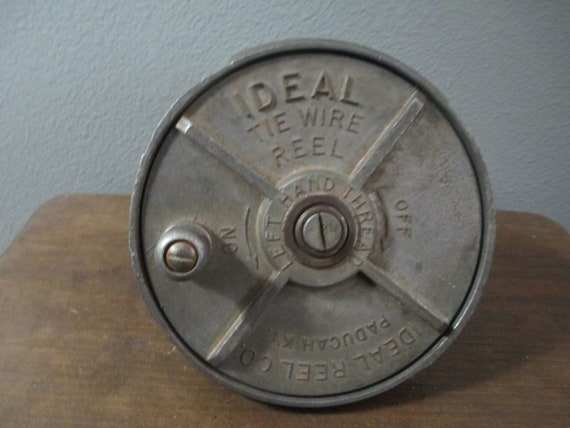 Tie Wire Reel Belt | Vintage Tie Wire Reel Industrial Iron Workers Belt Tool Etsy