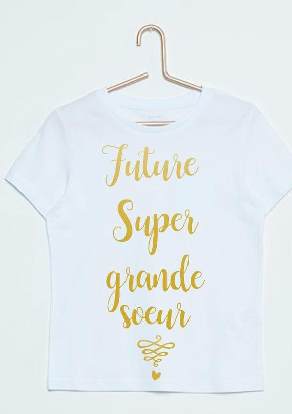 Future Big Sister Pregnancy Announcement T Shirt Etsy