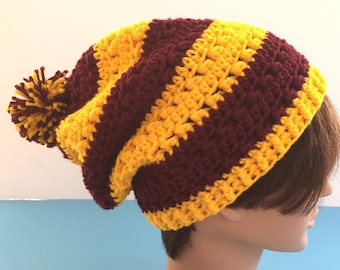 house pride slouchy hat inspired by harry potter df6888a1cc62