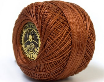1 ball of yarn for crochet, 60 m Brown medium * sewing, knitting * spool of very fine wire and solid for activities