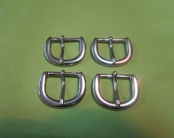 fine silver nickelee metal buckle