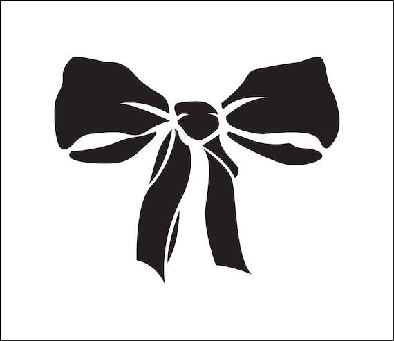 Bow Tie Stencil Ribbon Ref 77