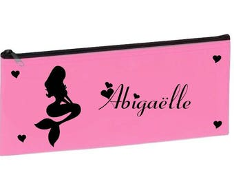 Personalized with name pink school Mermaid Kit