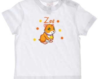 baby pig t-shirt from India personalized with name