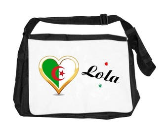 Algeria bag personalized with name