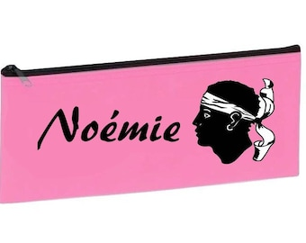 Corsica personalized with name pink School Kit