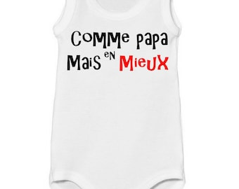 Tank top funny dad better Bodysuit