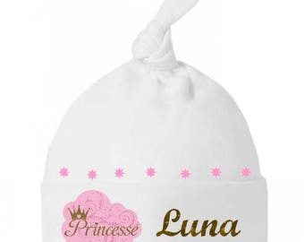 Beanie Baby Princess bow personalized with name