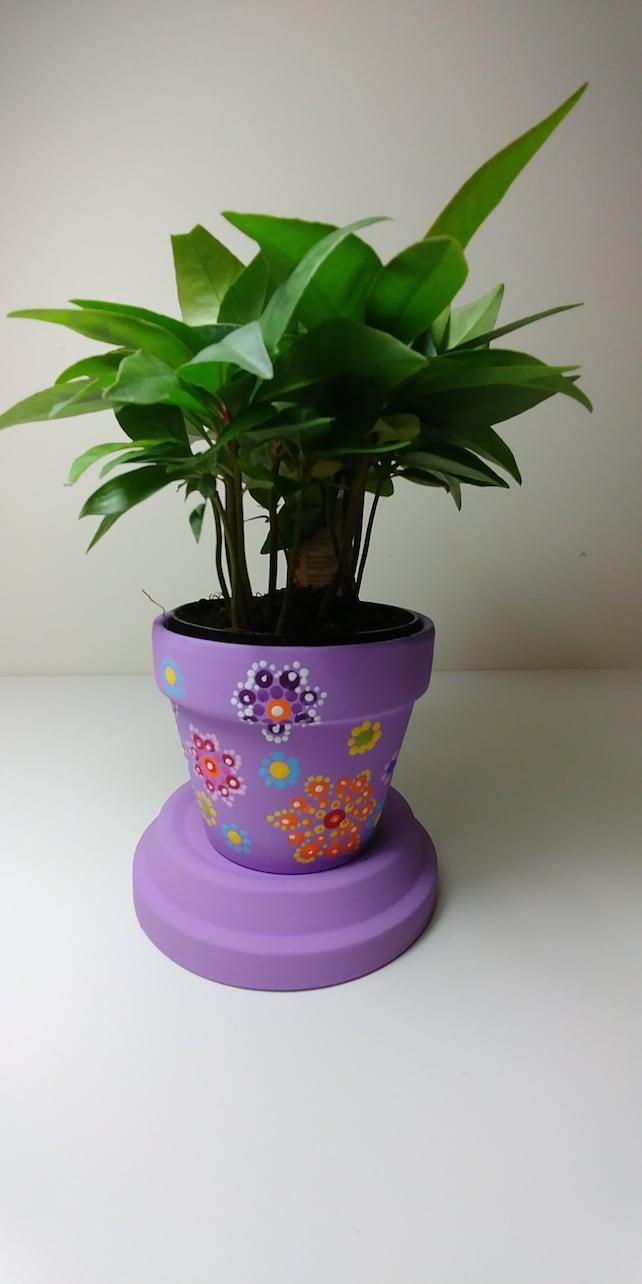 Flower Pot Etsy