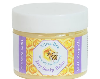 100% Natural Baby Dry Flaky Crusty Scalp Balm Honey Propolis 50ml