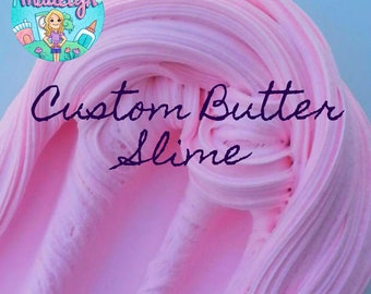 Custom Butter Slime ~ Scented Butter Slime ~ Choose Your Color and Scent