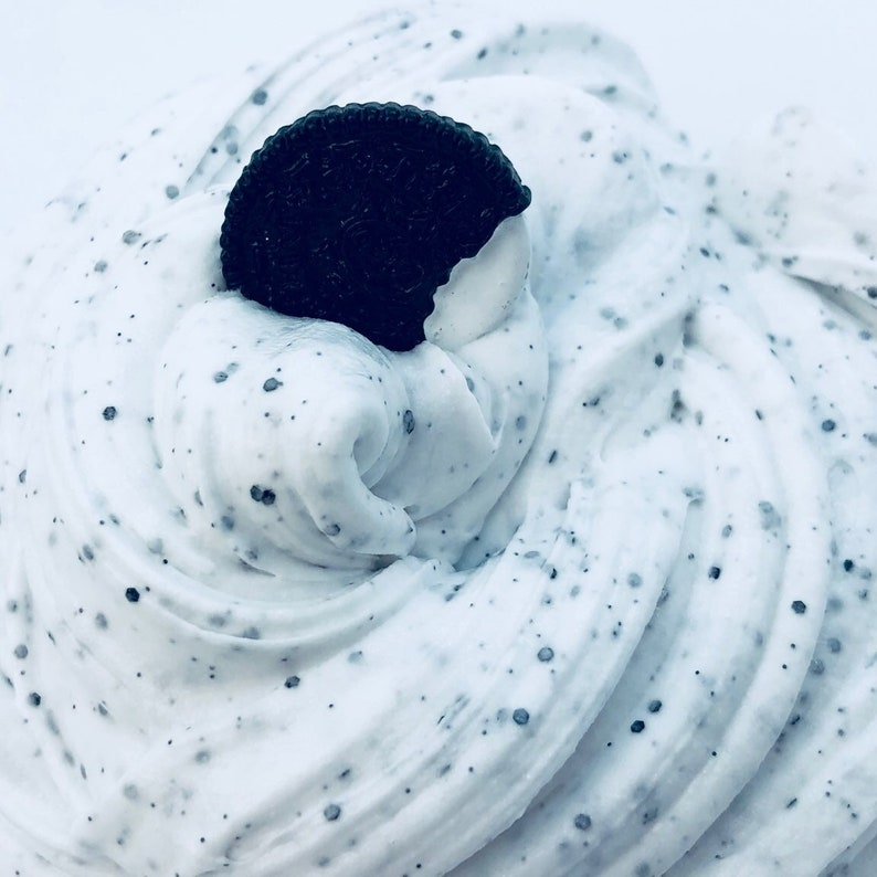 Oreo Butter Slime ~ Scented Slime ~ Charm slime