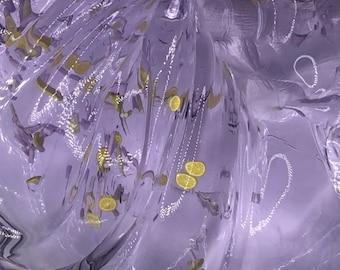 Lavender Lemonade clear slime ~ scented slime ~ clear slime