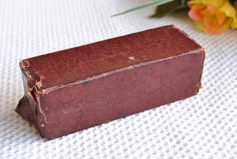 Antique Textile Color Magenta  Vintage Italian SUPER IRIDE Textile Paint  Victorian Dye in Original Box from 1900s