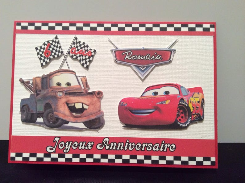 Birthday Card Custom Cars