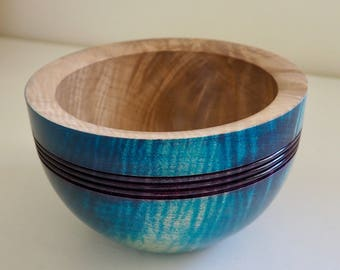 Stained Maple Bowl