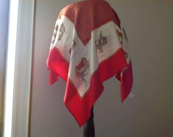 scarf Jean Louis Scherrer, vintage