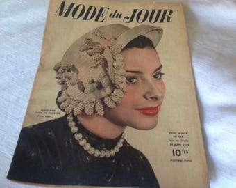 Copy of old journal Modiste du Jour