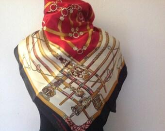 Jean Louis Scherrer vintage scarf