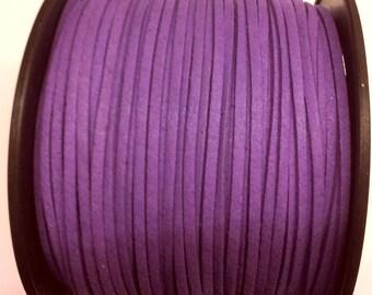 5 Metters imitation suede Microfiber - purple