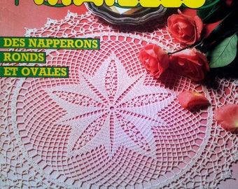 Magazine explanations 1000 crochet stitches N ° 79 mars1988