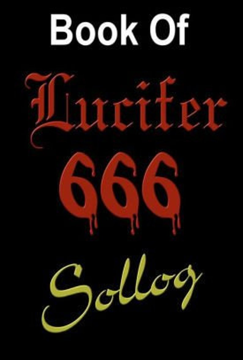 EBOOK: Libri Luciferious, The Book of Lucifer by Ben Shakur, with English  and Latin translation, Latin translation by Sollog